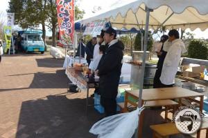 アスルクラロ沼津応援フェスタ 飲食ブース